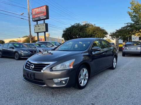 2014 Nissan Altima for sale at Autohaus of Greensboro in Greensboro NC