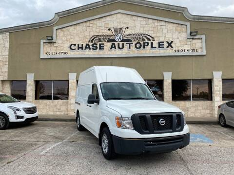 2018 Nissan NV Cargo for sale at CHASE AUTOPLEX in Lancaster TX