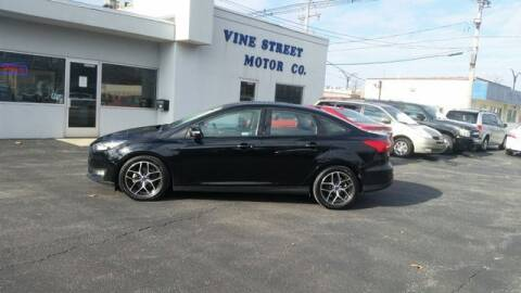 2017 Ford Focus for sale at VINE STREET MOTOR CO in Urbana IL