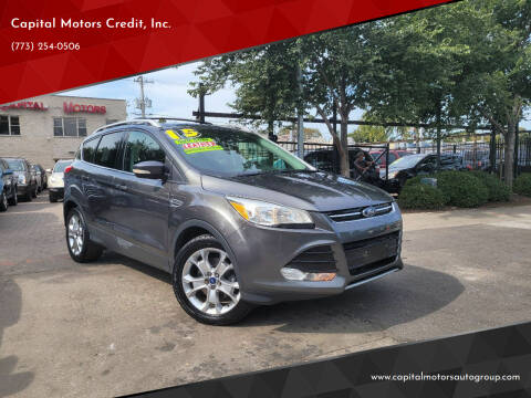 2015 Ford Escape for sale at Capital Motors Credit, Inc. in Chicago IL