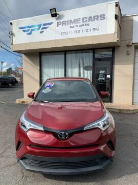 2018 Toyota C-HR for sale at Prime Cars Auto Sales in Saugus MA