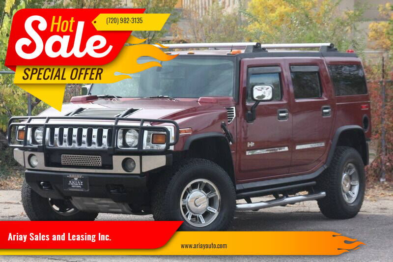 2004 HUMMER H2 for sale at Ariay Sales and Leasing Inc. in Denver CO