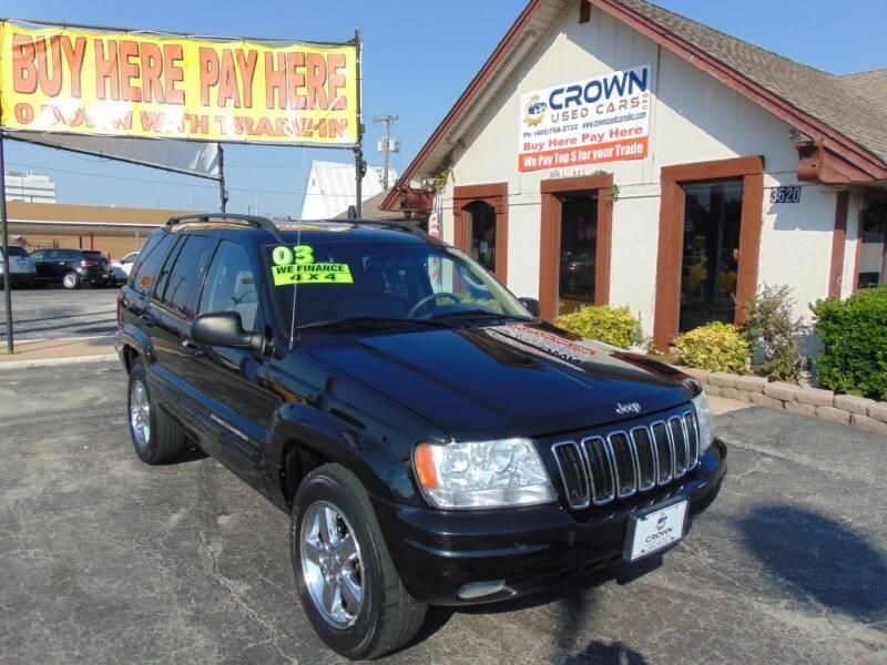 used 2003 jeep grand cherokee for sale in oklahoma city ok carsforsale com carsforsale com