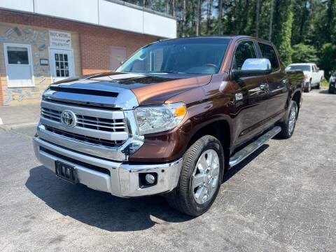 2014 Toyota Tundra for sale at Magic Motors Inc. in Snellville GA