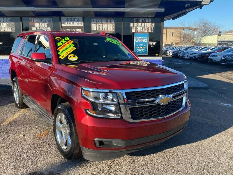 2015 Chevrolet Tahoe for sale at Cow Boys Auto Sales LLC in Garland TX