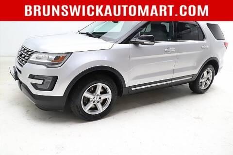 2017 Ford Explorer for sale at Brunswick Auto Mart in Brunswick OH