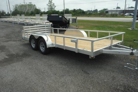2021 Quality Steel 80 X 16 LANDSCAPE ALUMINUM for sale at Bryan Auto Depot in Bryan OH