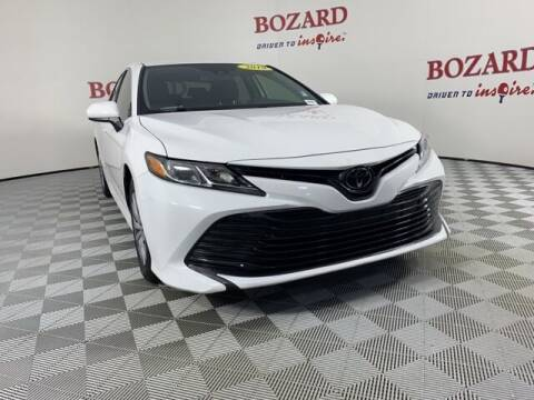 2019 Toyota Camry for sale at BOZARD FORD in Saint Augustine FL