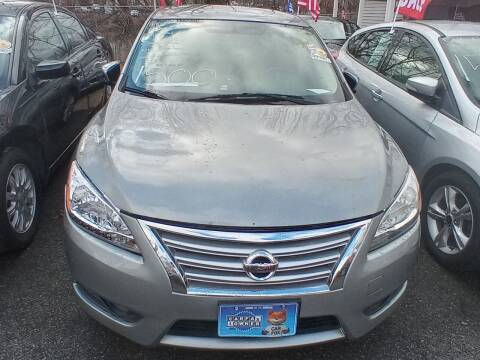 2014 Nissan Sentra for sale at BUY RITE AUTO MALL LLC in Garfield NJ