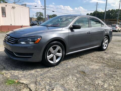 2013 Volkswagen Passat for sale at Atlas Auto Sales in Smyrna GA