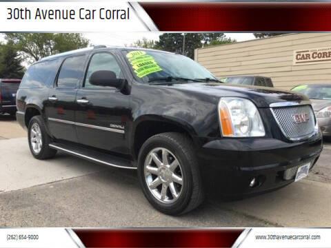 2011 GMC Yukon XL for sale at 30th Avenue Car Corral in Kenosha WI