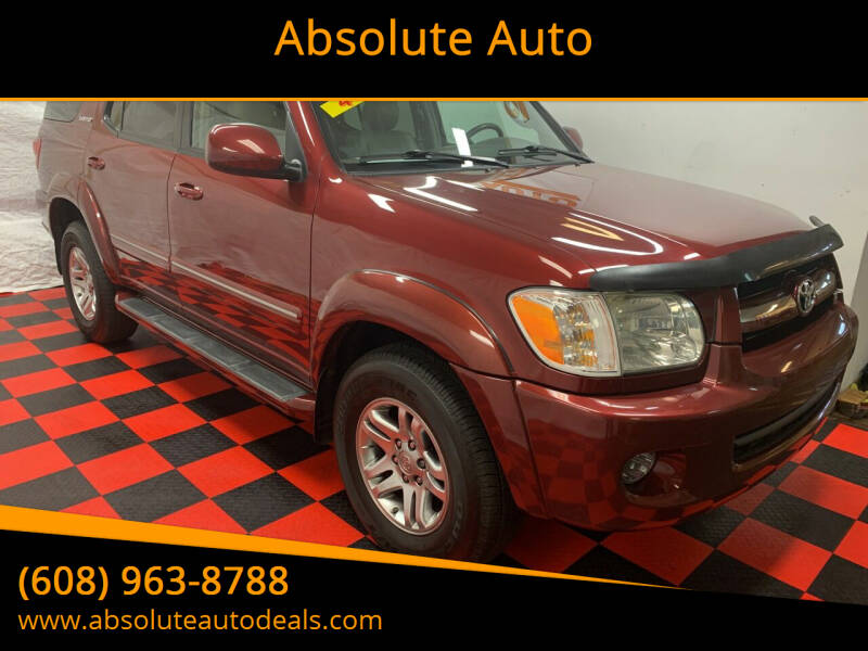 2006 Toyota Sequoia for sale at Absolute Auto in Baraboo WI