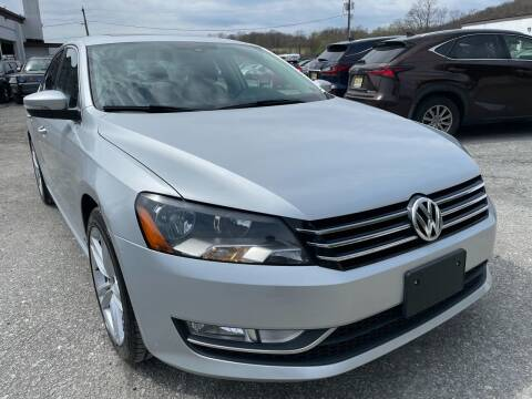 2015 Volkswagen Passat for sale at Ron Motor Inc. in Wantage NJ