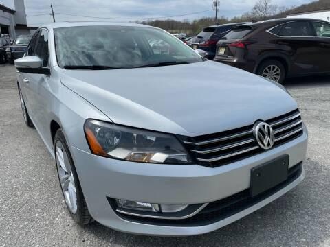 2015 Volkswagen Passat for sale at Ron Motor Inc. in Wantage NJ