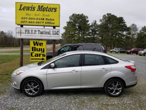 2013 Ford Focus for sale at Lewis Motors LLC in Deridder LA