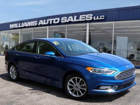 2017 Ford Fusion for sale at Williams Auto Sales, LLC in Cookeville TN
