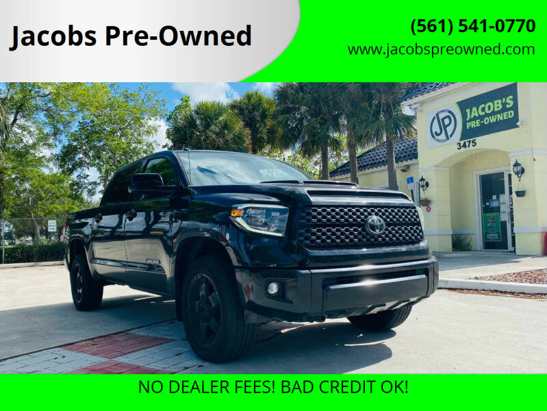 2019 Toyota Tundra for sale at Jacobs Pre-Owned in Lake Worth FL