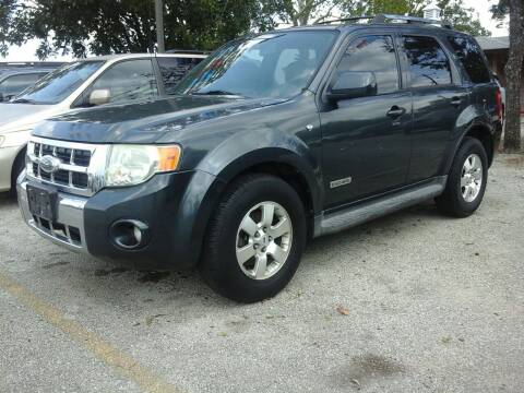 2008 Ford Escape for sale at John 3:16 Motors in San Antonio TX