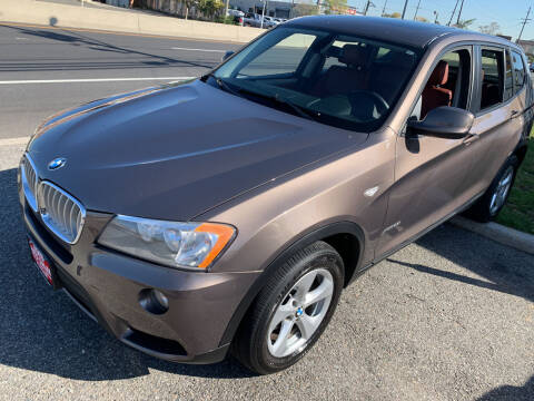 2011 BMW X3 for sale at STATE AUTO SALES in Lodi NJ