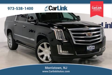 2017 Cadillac Escalade ESV for sale at CarLink in Morristown NJ