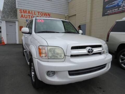 2006 Toyota Sequoia for sale at Small Town Auto Sales in Hazleton PA