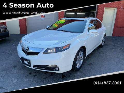 2012 Acura TL for sale at 4 Season Auto in Milwaukee WI