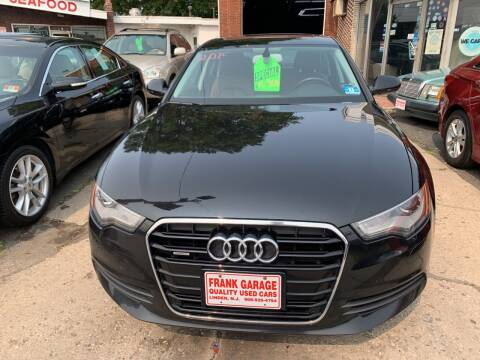 2015 Audi A6 for sale at Frank's Garage in Linden NJ