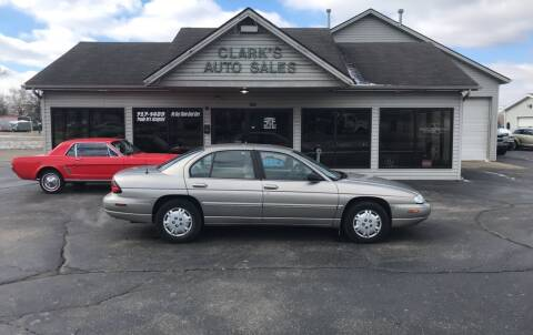 1998 Chevrolet Lumina for sale at Clarks Auto Sales in Middletown OH