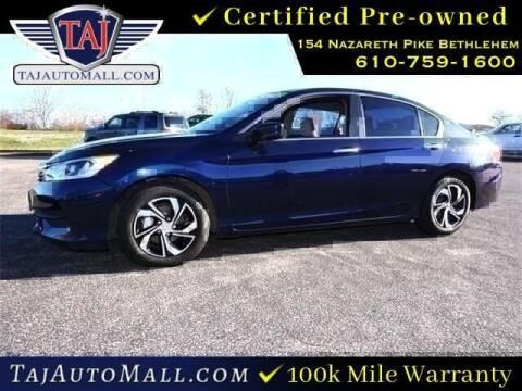 2017 Honda Accord for sale at Taj Auto Mall in Bethlehem PA