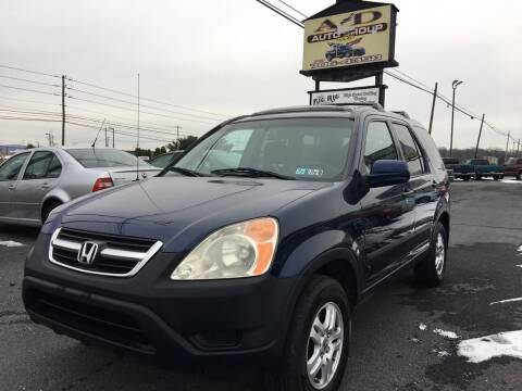 2002 Honda CR-V for sale at A & D Auto Group LLC in Carlisle PA