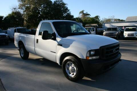 2002 Ford F-250 Super Duty for sale at Mike's Trucks & Cars in Port Orange FL