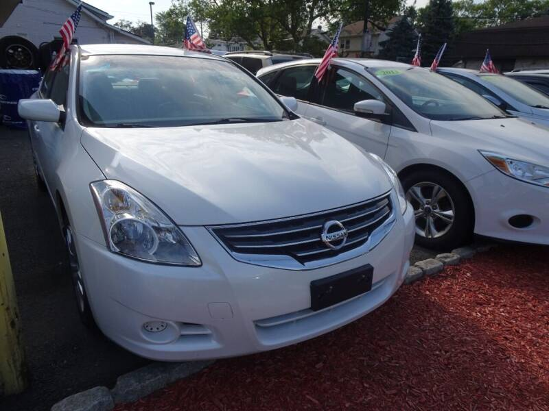 2010 Nissan Altima for sale at DNS Automotive Inc. in Bergenfield NJ