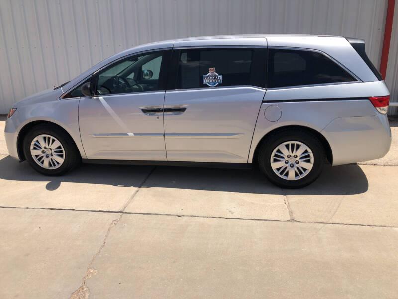 2014 Honda Odyssey for sale at WESTERN MOTOR COMPANY in Hobbs NM