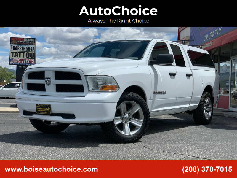 2012 RAM Ram Pickup 1500 for sale at AutoChoice in Boise ID