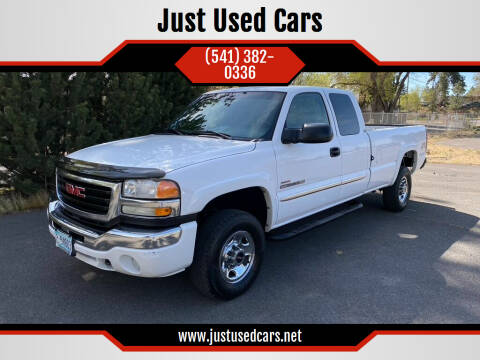 2005 GMC Sierra 2500HD for sale at Just Used Cars in Bend OR