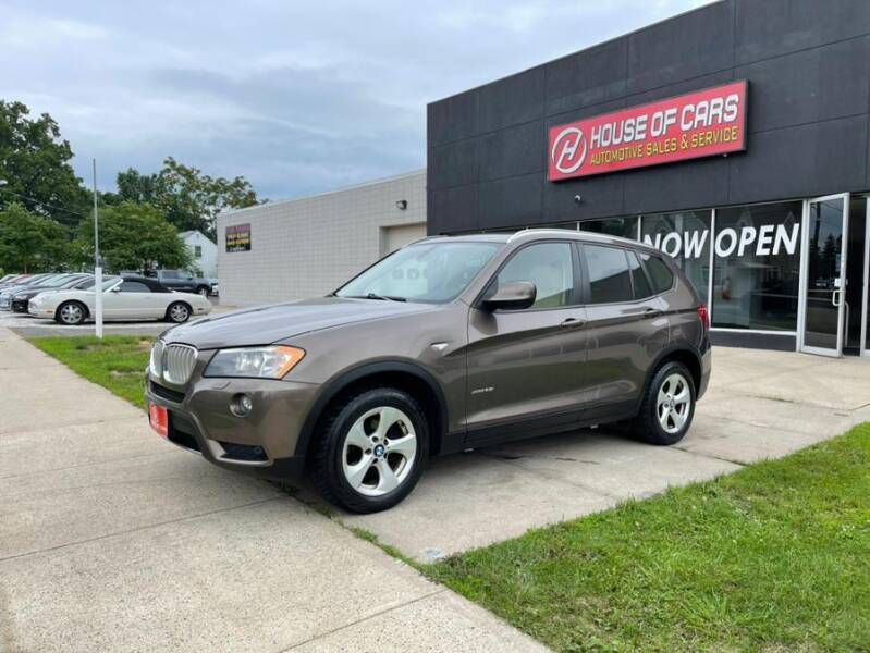 2011 BMW X3 for sale at HOUSE OF CARS CT in Meriden CT