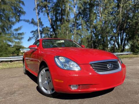 2004 Lexus SC 430 for sale at Exclusive Impex Inc in Davie FL