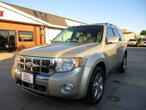 2011 Ford Escape for sale at Eden's Auto Sales in Valley Center KS
