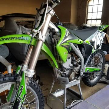 2004 Kawasaki KX250F for sale at Specialty Motors LLC in Land O Lakes FL