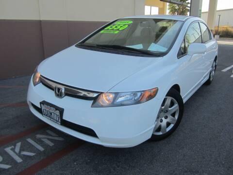 2008 Honda Civic for sale at PREFERRED MOTOR CARS in Covina CA