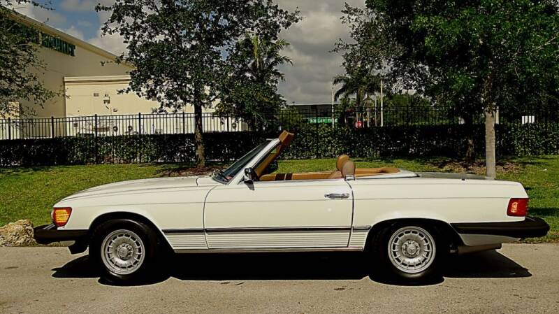 1984 Mercedes-Benz 380-Class for sale at Premier Luxury Cars in Oakland Park FL