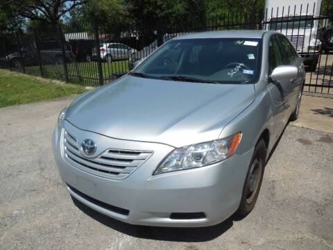 2007 Toyota Camry for sale at SCOTT HARRISON MOTOR CO in Houston TX