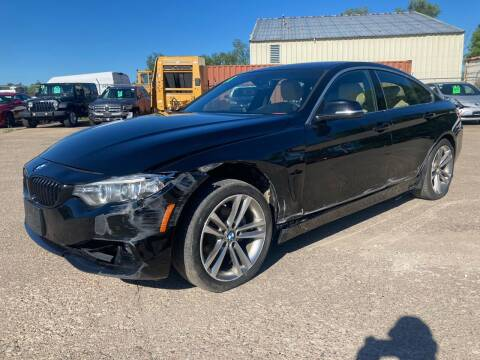 2016 BMW 4 Series for sale at SUNSET CURVE AUTO PARTS INC in Weyauwega WI