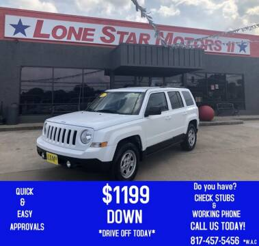 2017 Jeep Patriot for sale at LONE STAR MOTORS II in Fort Worth TX