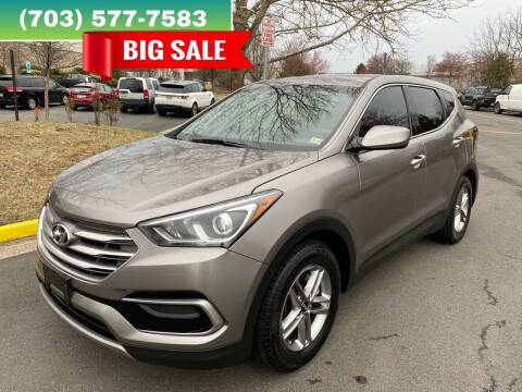 2017 Hyundai Santa Fe Sport for sale at Dreams Auto Group LLC in Sterling VA