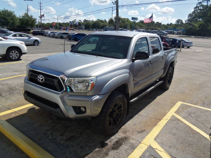 2015 Toyota Tacoma for sale at ORANGE PARK AUTO in Jacksonville FL