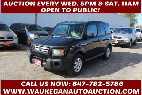 2007 Honda Element for sale at Waukegan Auto Auction in Waukegan IL