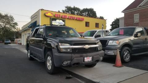 2003 Chevrolet Avalanche for sale at Bel Air Auto Sales in Milford CT