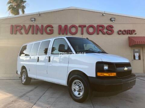 2017 Chevrolet Express Passenger for sale at Irving Motors Corp in San Antonio TX