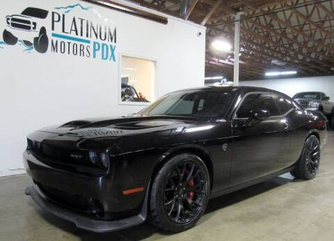 2016 Dodge Challenger for sale at Platinum Motors in Portland OR
